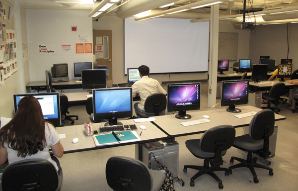 The Macintosh multimedia computer lab